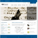 Diseo web corporativa Scrates-Maxpulver
