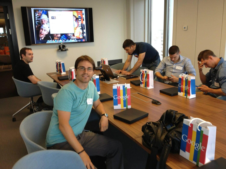 Google espa a visita a oficinas for Oficinas de muface en madrid