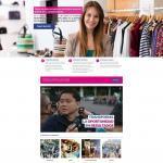 Diseño de la web de Bepenak