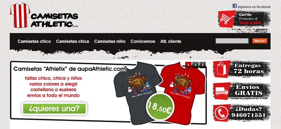 Tienda online de CamisetasAthletic.com