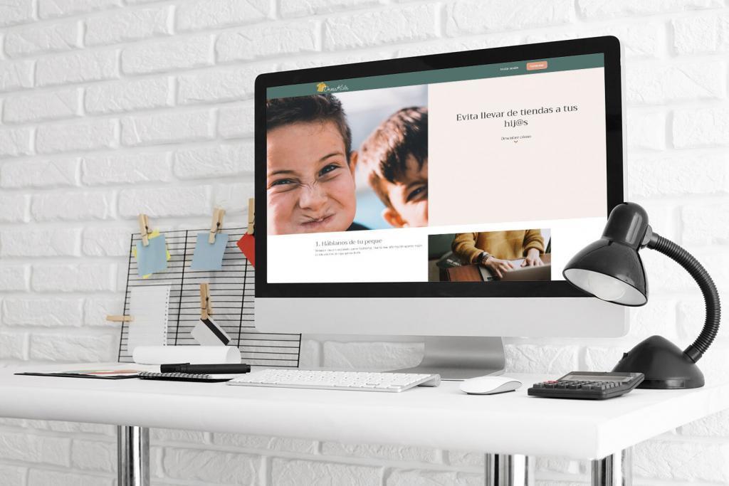 Diseño página web DressKids